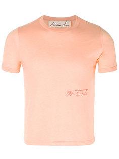 slim fit printed T-shirt  Martine Rose