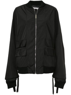 zipped bomber jacket  Strateas Carlucci