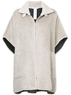 short-sleeved oversized jacket Fabiana Filippi