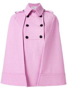 двубортное пальто-кейп  Valentino