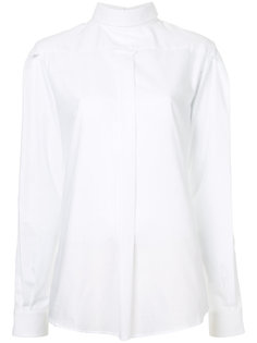 backwards button-up shirt R13