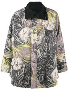 двухсторонняя куртка с черепами Yohji Yamamoto