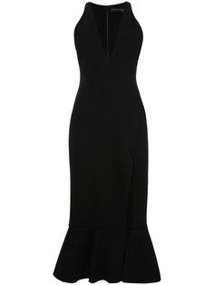 расклешенное платье шифт  David Koma