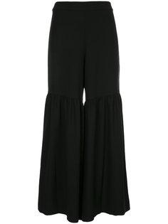 строгие расклешенные брюки  Elaidi