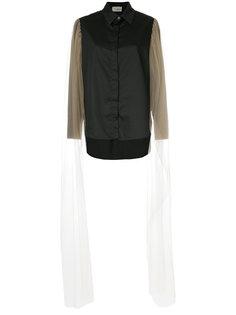 рубашка с сетчатыми рукавами  Elaidi
