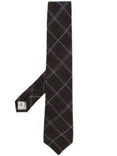 галстук в клетку Gieves & Hawkes