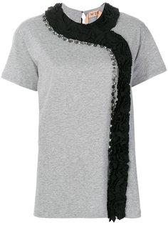 футболка с оборкой  Nº21