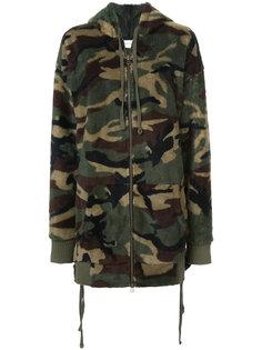 camouflage fleece hoodie Faith Connexion