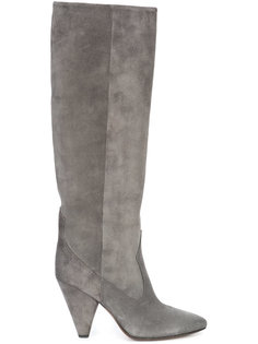 pointed knee-length boots Buttero