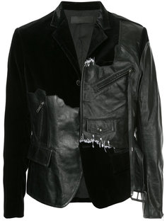 пиджак с панельным дизайном Transgressive   Haider Ackermann