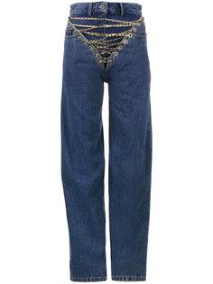 джинсы с цепочками спереди  Y / Project