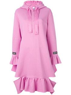 платье-толстовка с оборкой  Sjyp