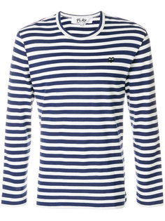 полосатая футболка Comme Des Garçons Play