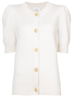 cashmere puff sleeved cardigan Chloé