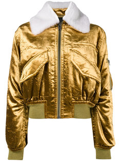 куртка-бомбер металлик  Haider Ackermann