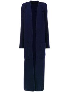 пальто в рубчик с округлыми плечами  Haider Ackermann