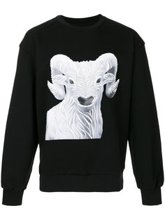 Ram embroidered sweatshirt Juun.J