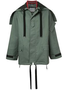 куртка с капюшоном  на молнии Lanvin