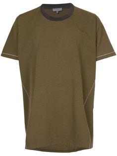 футболка с контрастной строчкой Lanvin
