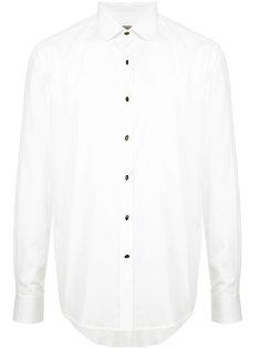 рубашка с контрастными пуговицами Lanvin