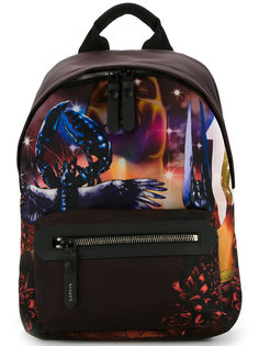рюкзак с графическим принтом Lanvin