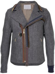 куртка с отделкой молниями Kolor