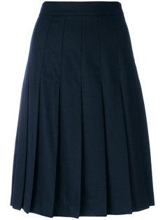 плиссированная юбка до середины колена  MSGM