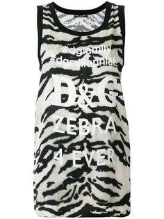 футболка Zebra 4 Ever Dolce & Gabbana