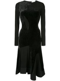 платье с бархатной отделкой  Esteban Cortazar