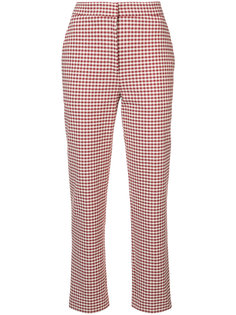 gingham cropped trousers Brock Collection