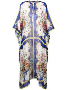 туника с принтом Majolica Dolce & Gabbana