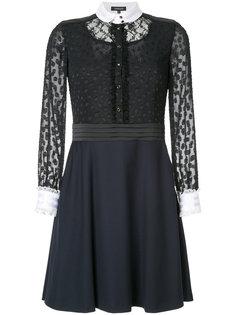 полупрозрачное платье с воротником  Loveless