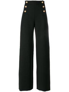 широкие брюки с завышенной талией  Alberta Ferretti