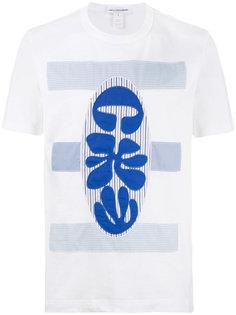 футболка с вышивкой Comme Des Garçons Homme Plus