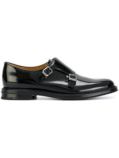 monk strap loafers Churchs