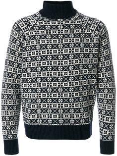 свитер с вышивкой Doppiaa
