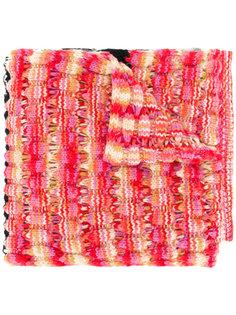 intarsia knit scarf  Missoni