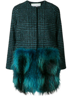 panelled coat  Ava Adore