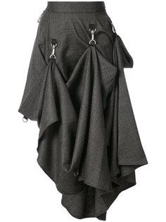 check asymmetric hook strap skirt Growing Pains