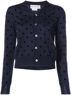 polka dot cardigan  Comme Des Garçons Girl