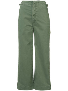 cropped flared trousers Mother