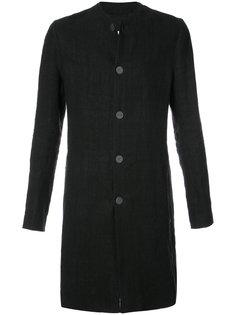 пальто без воротника Label Under Construction