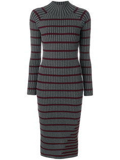 ribbed knit stripe dress Alexander Wang