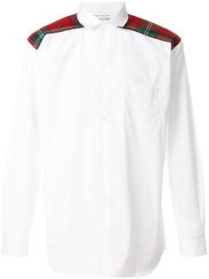 полосатая рубашка с аппликацией Comme Des Garçons Shirt