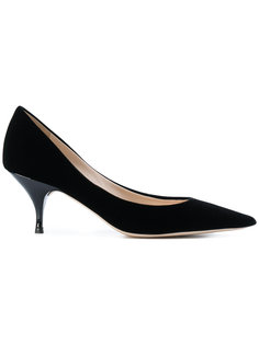 туфли-лодочки на низком каблуке Nina Ricci