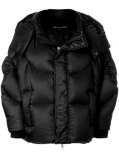 свободная дутая куртка  Chenpeng