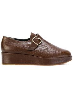 monk strap platform loafers Robert Clergerie