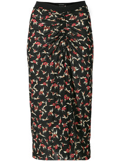 юбка-карандаш со сборкой  Isabel Marant