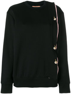 crystal detail sweatshirt Coliac