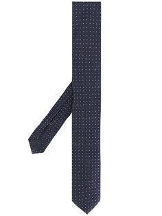 галстук с вышивкой Boss Hugo Boss